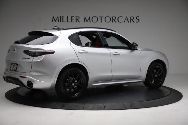 New 2021 Alfa Romeo Stelvio Ti Sport Q4 for sale $57,200 at Rolls-Royce Motor Cars Greenwich in Greenwich CT 06830 8