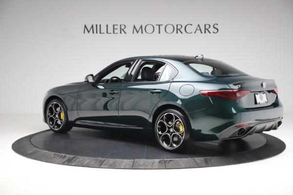 New 2021 Alfa Romeo Giulia Ti Sport Q4 for sale Sold at Rolls-Royce Motor Cars Greenwich in Greenwich CT 06830 4