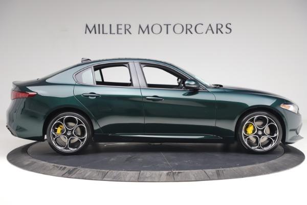 New 2021 Alfa Romeo Giulia Ti Sport Q4 for sale Sold at Rolls-Royce Motor Cars Greenwich in Greenwich CT 06830 9