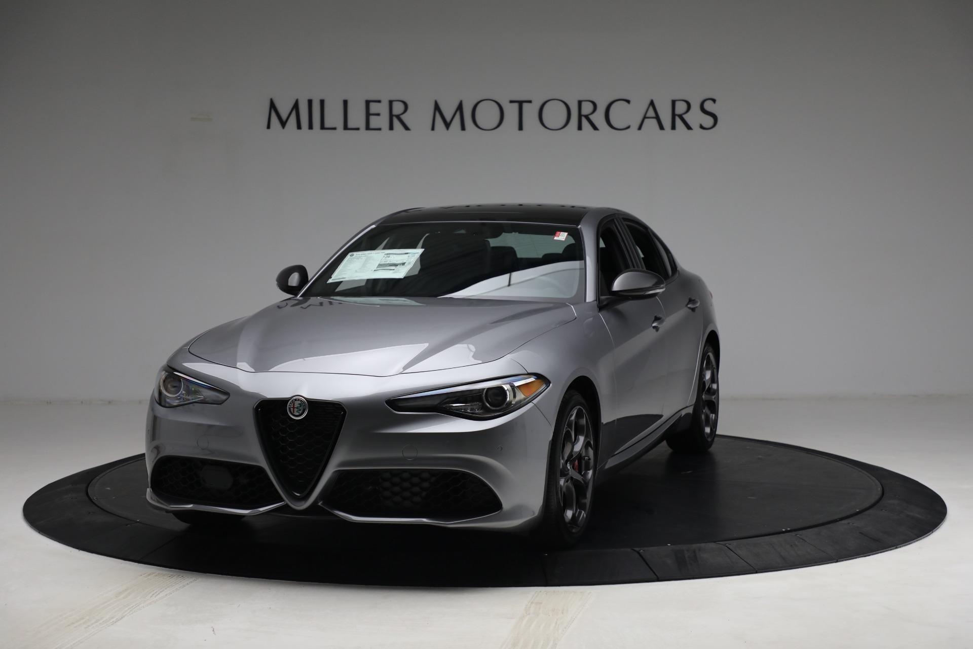 New 2021 Alfa Romeo Giulia Ti Sport Q4 for sale $54,050 at Rolls-Royce Motor Cars Greenwich in Greenwich CT 06830 1