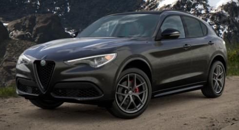 New 2021 Alfa Romeo Stelvio Ti Sport Q4 for sale $57,200 at Rolls-Royce Motor Cars Greenwich in Greenwich CT 06830 1