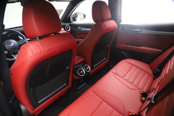 New 2021 Alfa Romeo Stelvio Ti Sport Q4 for sale $54,095 at Rolls-Royce Motor Cars Greenwich in Greenwich CT 06830 18