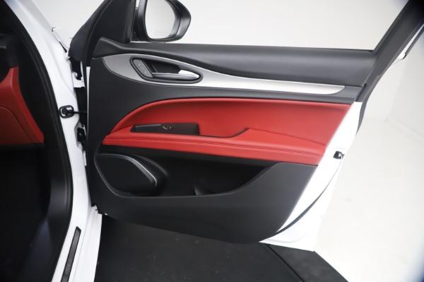 New 2021 Alfa Romeo Stelvio Ti Sport Q4 for sale $54,095 at Rolls-Royce Motor Cars Greenwich in Greenwich CT 06830 24