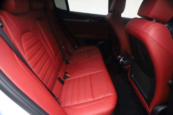New 2021 Alfa Romeo Stelvio Ti Sport Q4 for sale $54,095 at Rolls-Royce Motor Cars Greenwich in Greenwich CT 06830 26