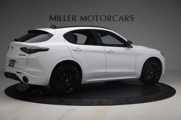 New 2021 Alfa Romeo Stelvio Ti Sport Q4 for sale $54,095 at Rolls-Royce Motor Cars Greenwich in Greenwich CT 06830 9
