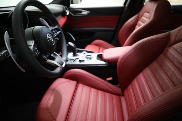 New 2021 Alfa Romeo Giulia Ti Sport Q4 for sale $54,050 at Rolls-Royce Motor Cars Greenwich in Greenwich CT 06830 14