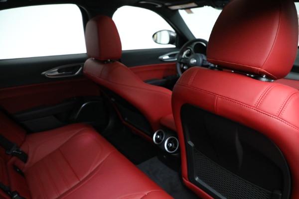 New 2021 Alfa Romeo Giulia Ti Sport Q4 for sale $54,050 at Rolls-Royce Motor Cars Greenwich in Greenwich CT 06830 22