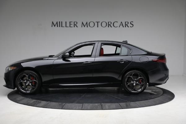 New 2021 Alfa Romeo Giulia Ti Sport Q4 for sale $54,050 at Rolls-Royce Motor Cars Greenwich in Greenwich CT 06830 3