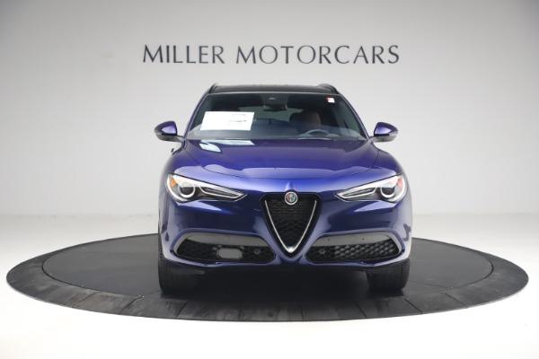 New 2021 Alfa Romeo Stelvio Ti Sport Q4 for sale $55,700 at Rolls-Royce Motor Cars Greenwich in Greenwich CT 06830 12