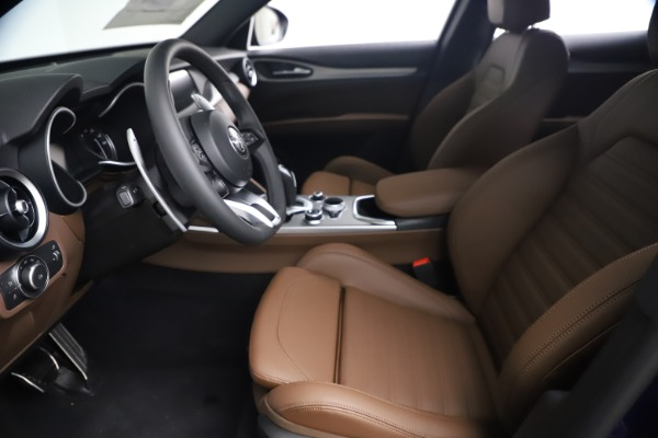 New 2021 Alfa Romeo Stelvio Ti Sport Q4 for sale $55,700 at Rolls-Royce Motor Cars Greenwich in Greenwich CT 06830 13