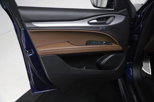 New 2021 Alfa Romeo Stelvio Ti Sport Q4 for sale $55,700 at Rolls-Royce Motor Cars Greenwich in Greenwich CT 06830 15