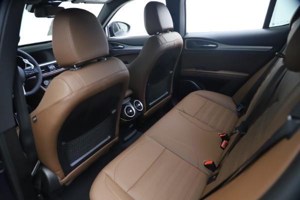New 2021 Alfa Romeo Stelvio Ti Sport Q4 for sale $55,700 at Rolls-Royce Motor Cars Greenwich in Greenwich CT 06830 16