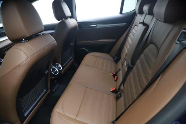 New 2021 Alfa Romeo Stelvio Ti Sport Q4 for sale $55,700 at Rolls-Royce Motor Cars Greenwich in Greenwich CT 06830 17