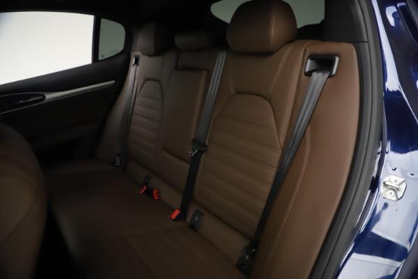 New 2021 Alfa Romeo Stelvio Ti Sport Q4 for sale $55,700 at Rolls-Royce Motor Cars Greenwich in Greenwich CT 06830 18
