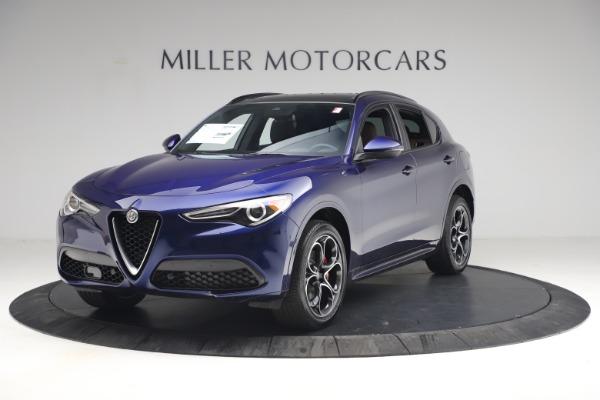 New 2021 Alfa Romeo Stelvio Ti Sport Q4 for sale $55,700 at Rolls-Royce Motor Cars Greenwich in Greenwich CT 06830 2