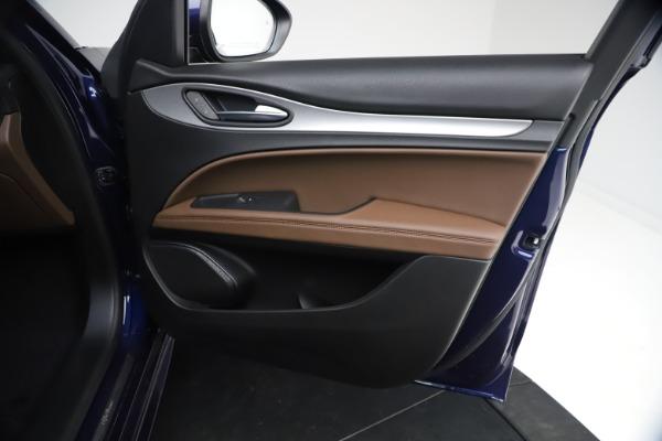 New 2021 Alfa Romeo Stelvio Ti Sport Q4 for sale $55,700 at Rolls-Royce Motor Cars Greenwich in Greenwich CT 06830 22