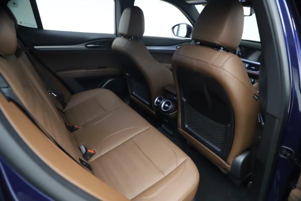 New 2021 Alfa Romeo Stelvio Ti Sport Q4 for sale $55,700 at Rolls-Royce Motor Cars Greenwich in Greenwich CT 06830 23