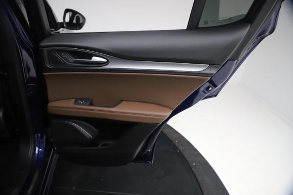 New 2021 Alfa Romeo Stelvio Ti Sport Q4 for sale $55,700 at Rolls-Royce Motor Cars Greenwich in Greenwich CT 06830 25