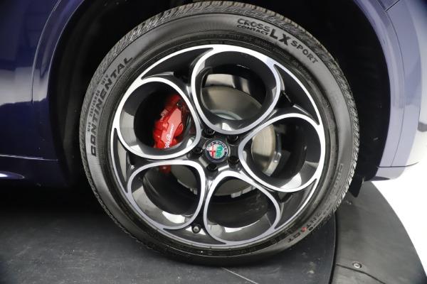 New 2021 Alfa Romeo Stelvio Ti Sport Q4 for sale $55,700 at Rolls-Royce Motor Cars Greenwich in Greenwich CT 06830 26