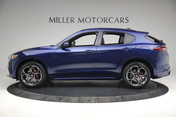 New 2021 Alfa Romeo Stelvio Ti Sport Q4 for sale $55,700 at Rolls-Royce Motor Cars Greenwich in Greenwich CT 06830 3