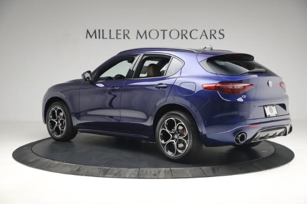 New 2021 Alfa Romeo Stelvio Ti Sport Q4 for sale $55,700 at Rolls-Royce Motor Cars Greenwich in Greenwich CT 06830 4