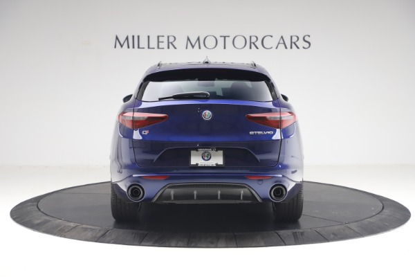New 2021 Alfa Romeo Stelvio Ti Sport Q4 for sale $55,700 at Rolls-Royce Motor Cars Greenwich in Greenwich CT 06830 6