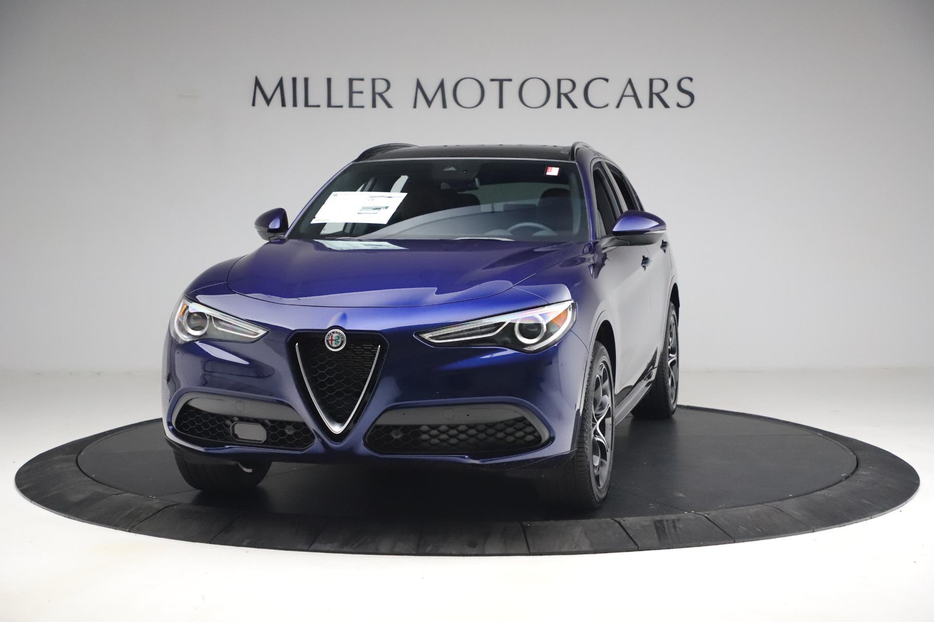 New 2021 Alfa Romeo Stelvio Ti Sport Q4 for sale $55,700 at Rolls-Royce Motor Cars Greenwich in Greenwich CT 06830 1