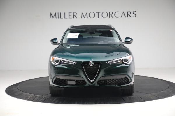 New 2021 Alfa Romeo Stelvio Q4 for sale $50,445 at Rolls-Royce Motor Cars Greenwich in Greenwich CT 06830 14