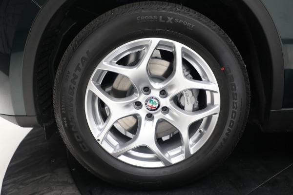 New 2021 Alfa Romeo Stelvio Q4 for sale $50,445 at Rolls-Royce Motor Cars Greenwich in Greenwich CT 06830 21