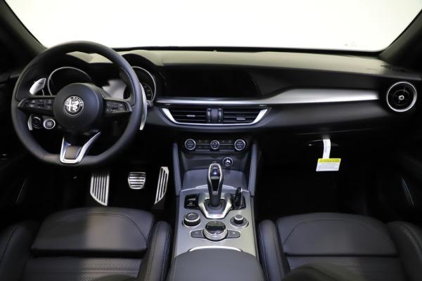 New 2021 Alfa Romeo Stelvio Ti Sport Q4 for sale $57,200 at Rolls-Royce Motor Cars Greenwich in Greenwich CT 06830 17