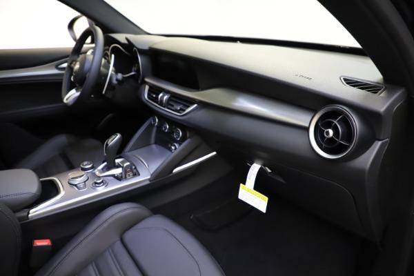 New 2021 Alfa Romeo Stelvio Ti Sport Q4 for sale $57,200 at Rolls-Royce Motor Cars Greenwich in Greenwich CT 06830 23
