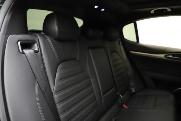 New 2021 Alfa Romeo Stelvio Ti Sport Q4 for sale $57,200 at Rolls-Royce Motor Cars Greenwich in Greenwich CT 06830 27