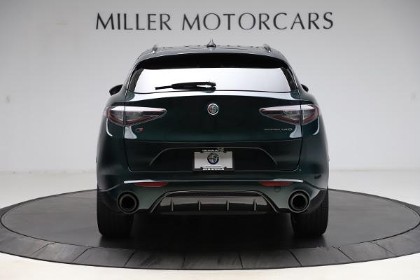 New 2021 Alfa Romeo Stelvio Ti Sport Q4 for sale $57,200 at Rolls-Royce Motor Cars Greenwich in Greenwich CT 06830 6
