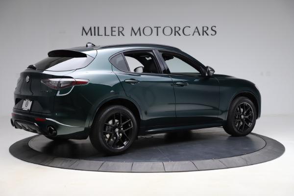 New 2021 Alfa Romeo Stelvio Ti Sport Q4 for sale $57,200 at Rolls-Royce Motor Cars Greenwich in Greenwich CT 06830 9
