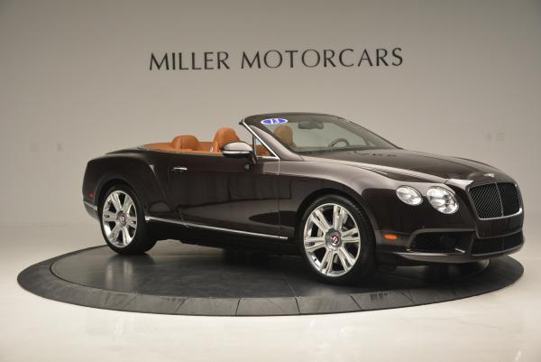 Used 2013 Bentley Continental GTC V8 for sale Sold at Rolls-Royce Motor Cars Greenwich in Greenwich CT 06830 10