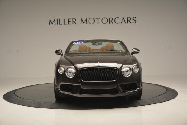 Used 2013 Bentley Continental GTC V8 for sale Sold at Rolls-Royce Motor Cars Greenwich in Greenwich CT 06830 12