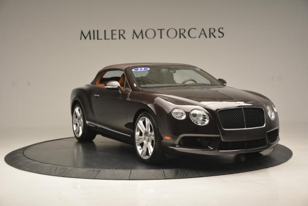 Used 2013 Bentley Continental GTC V8 for sale Sold at Rolls-Royce Motor Cars Greenwich in Greenwich CT 06830 24