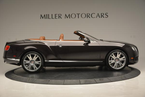 Used 2013 Bentley Continental GTC V8 for sale Sold at Rolls-Royce Motor Cars Greenwich in Greenwich CT 06830 9