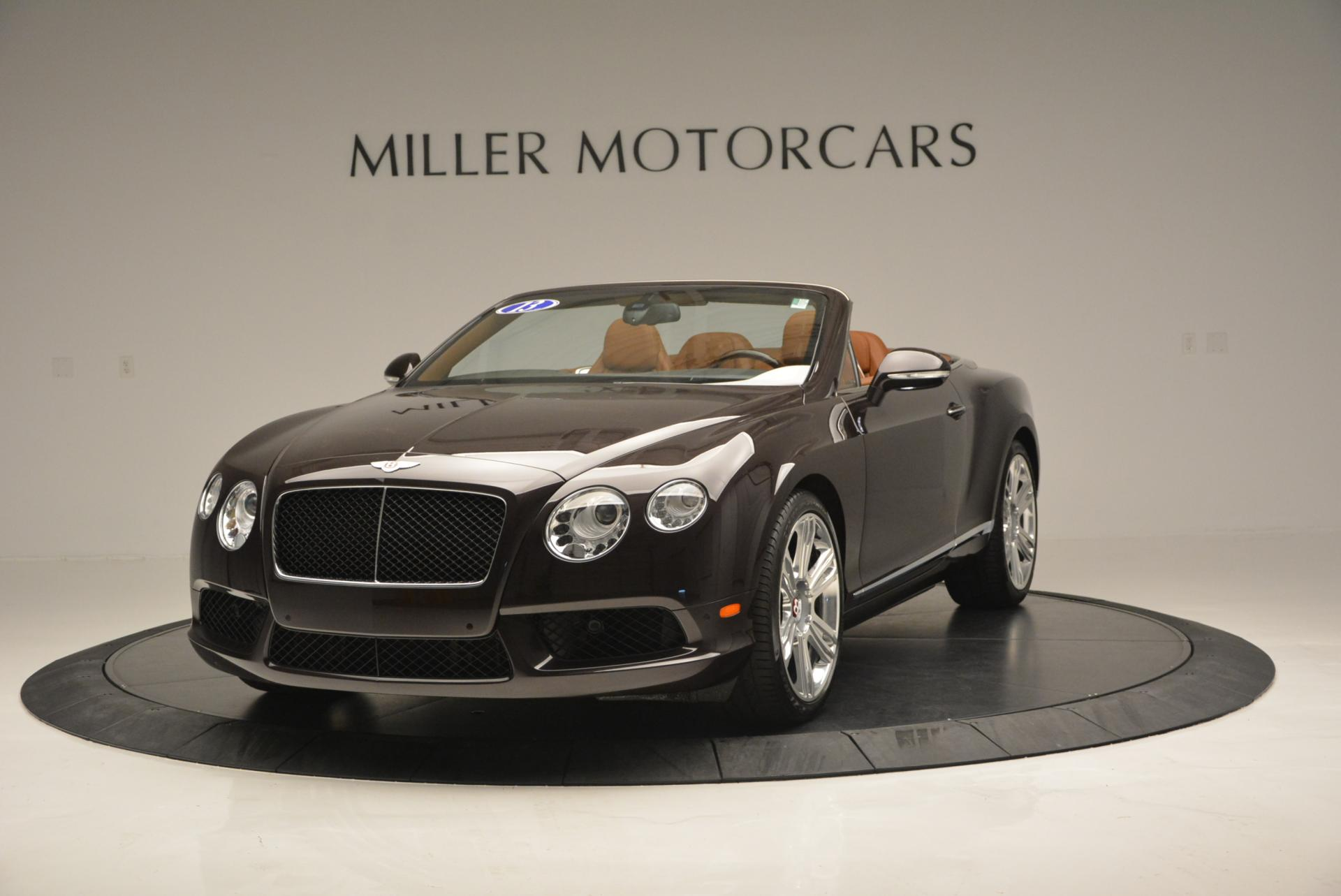 Used 2013 Bentley Continental GTC V8 for sale Sold at Rolls-Royce Motor Cars Greenwich in Greenwich CT 06830 1