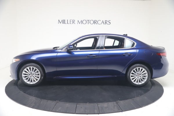 New 2021 Alfa Romeo Giulia Q4 for sale Call for price at Rolls-Royce Motor Cars Greenwich in Greenwich CT 06830 3