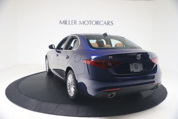 New 2021 Alfa Romeo Giulia Q4 for sale Call for price at Rolls-Royce Motor Cars Greenwich in Greenwich CT 06830 5