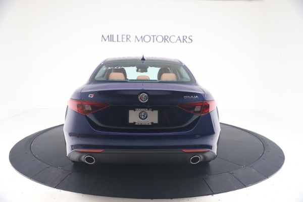 New 2021 Alfa Romeo Giulia Q4 for sale Call for price at Rolls-Royce Motor Cars Greenwich in Greenwich CT 06830 6