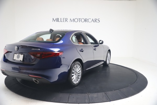 New 2021 Alfa Romeo Giulia Q4 for sale Call for price at Rolls-Royce Motor Cars Greenwich in Greenwich CT 06830 7