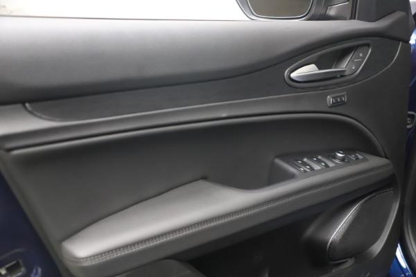 New 2021 Alfa Romeo Stelvio Q4 for sale $49,945 at Rolls-Royce Motor Cars Greenwich in Greenwich CT 06830 14