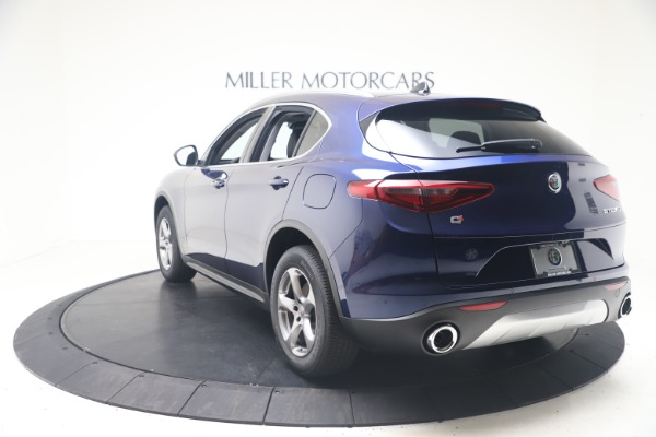 New 2021 Alfa Romeo Stelvio Q4 for sale $49,945 at Rolls-Royce Motor Cars Greenwich in Greenwich CT 06830 5