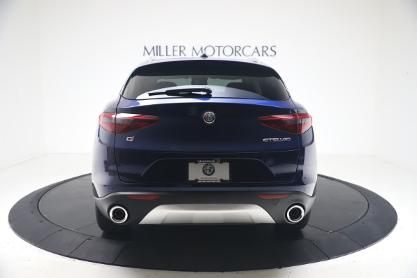 New 2021 Alfa Romeo Stelvio Q4 for sale $49,945 at Rolls-Royce Motor Cars Greenwich in Greenwich CT 06830 6