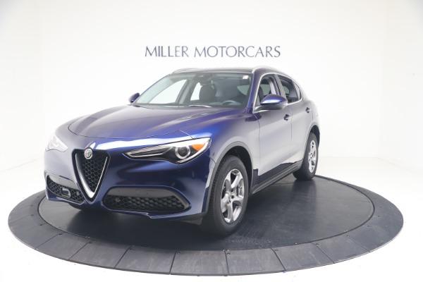 New 2021 Alfa Romeo Stelvio Q4 for sale $49,945 at Rolls-Royce Motor Cars Greenwich in Greenwich CT 06830 1