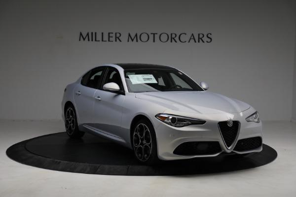 New 2021 Alfa Romeo Giulia Ti Sport Q4 for sale $53,050 at Rolls-Royce Motor Cars Greenwich in Greenwich CT 06830 10