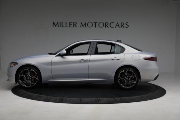 New 2021 Alfa Romeo Giulia Ti Sport Q4 for sale $53,050 at Rolls-Royce Motor Cars Greenwich in Greenwich CT 06830 2