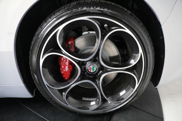 New 2021 Alfa Romeo Giulia Ti Sport Q4 for sale $53,050 at Rolls-Royce Motor Cars Greenwich in Greenwich CT 06830 21